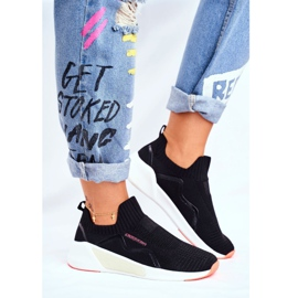 Sportowe Damskie Buty Cross Jeans Czarne FF2R4116C 1