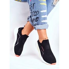 Sportowe Damskie Buty Cross Jeans Czarne FF2R4116C 3