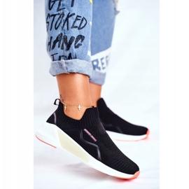 Sportowe Damskie Buty Cross Jeans Czarne FF2R4116C 2