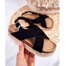 Sandałki Dziecięce Big Star Czarne FF374168 2
