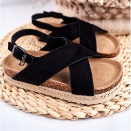 Sandałki Dziecięce Big Star Czarne FF374168 1