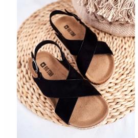 Sandałki Dziecięce Big Star Czarne FF374168 4