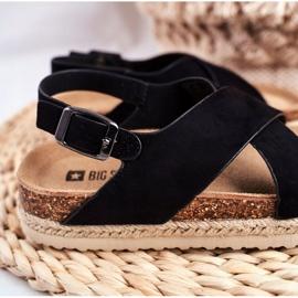 Sandałki Dziecięce Big Star Czarne FF374168 3