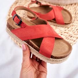 Sandałki Dziecięce Big Star Koral FF374171 różowe 2
