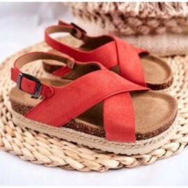 Sandałki Dziecięce Big Star Koral FF374171 różowe 1