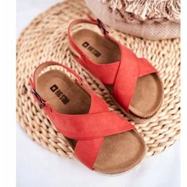 Sandałki Dziecięce Big Star Koral FF374171 różowe 3