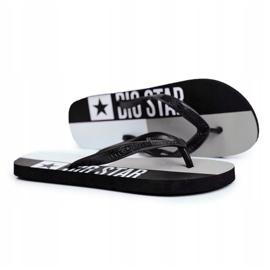 Klapki Męskie Japonki Big Star Czarne FF274A453 2