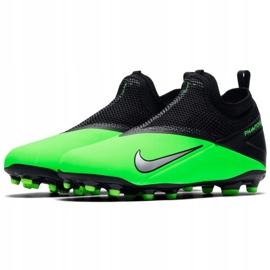 Buty piłkarskie Nike Phantom Vsn 2 Academy Df Fg /MG Jr CD4059 306 wielokolorowe zielone 1