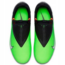 Buty piłkarskie Nike Phantom Vsn 2 Academy Df Fg /MG Jr CD4059 306 wielokolorowe zielone 2