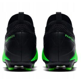 Buty piłkarskie Nike Phantom Vsn 2 Academy Df Fg /MG Jr CD4059 306 wielokolorowe zielone 5