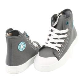 Befado obuwie dziecięce 438X014 szare 4