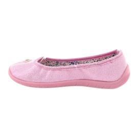 Befado obuwie dziecięce  980X098 różowe 2