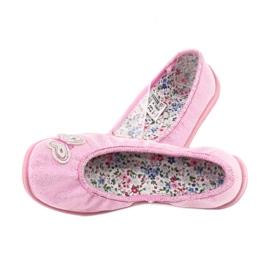 Befado obuwie dziecięce  980X098 różowe 5