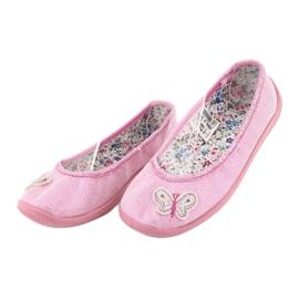 Befado obuwie dziecięce  980X098 różowe 3