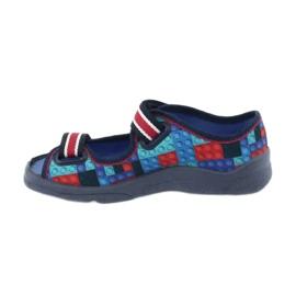 Befado obuwie dziecięce  969X153 czerwone granatowe niebieskie 2