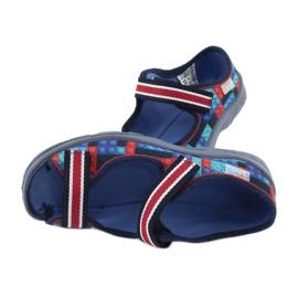Befado obuwie dziecięce  969X153 czerwone granatowe niebieskie 5