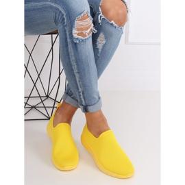 Obuwie sportowe żółte 7079 Yellow 3