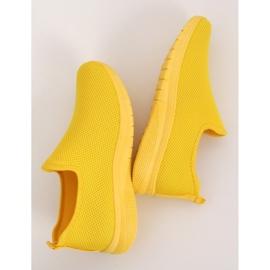 Obuwie sportowe żółte 7079 Yellow 1