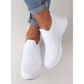Buty sportowe białe 4388 White 3