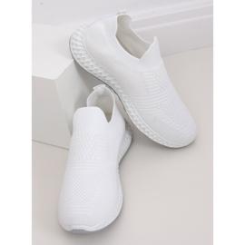 Buty sportowe białe 4388 White 2