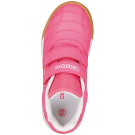 Buty halowe Kappa Kickoff Jr 260509K 2210 różowe 1