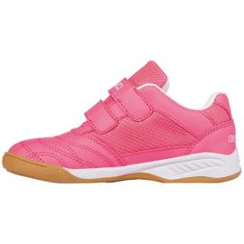 Buty halowe Kappa Kickoff Jr 260509K 2210 różowe 2