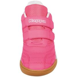 Buty halowe Kappa Kickoff Jr 260509K 2210 różowe 3