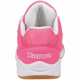 Buty halowe Kappa Kickoff Jr 260509K 2210 różowe 4