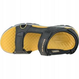 Sandały Skechers Tresmen-Hirano M 204106-BLK czarne 2