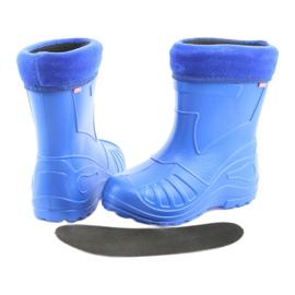 Befado obuwie dziecięce kalosz- chabrowy 162Y106 niebieskie 5