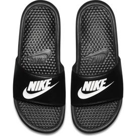 Klapki Nike Benassi Jdi M 343880 090 czarne 1