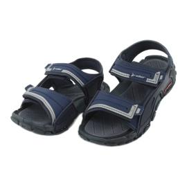 Sandałki chłopięce 82817 Rider TENDER XI KIDS granatowe niebieskie szare 2