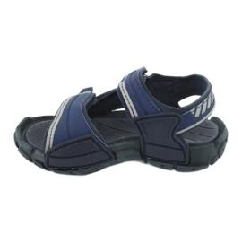 Sandałki chłopięce 82817 Rider TENDER XI KIDS granatowe niebieskie szare 1
