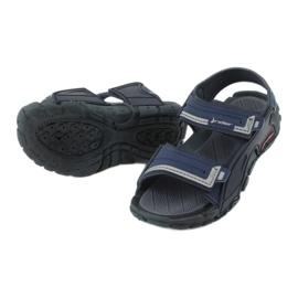 Sandałki chłopięce 82817 Rider TENDER XI KIDS granatowe niebieskie szare 3