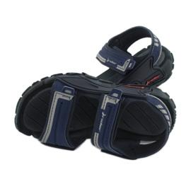 Sandałki chłopięce 82817 Rider TENDER XI KIDS granatowe niebieskie szare 4