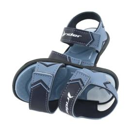 RIDER sandały dziecięce Comfort BABY 82746 granatowe niebieskie 4