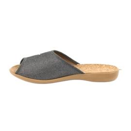 Befado obuwie damskie pu 254D106 szare 2