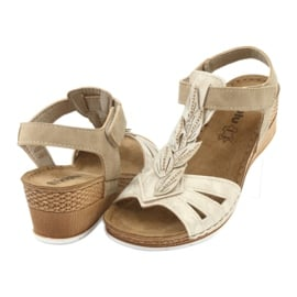 Sandały z wkładką skórzaną Inblu Sabbia EP017 3