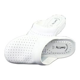 Klapki medyczne białe Comfooty Alessio 4
