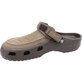 Klapki Crocs Yukon Vista Clog M 205177-22Z brązowe 1