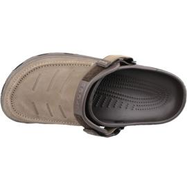 Klapki Crocs Yukon Vista Clog M 205177-22Z brązowe 2