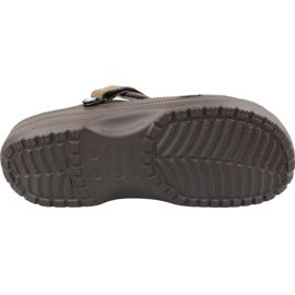 Klapki Crocs Yukon Vista Clog M 205177-22Z brązowe 3