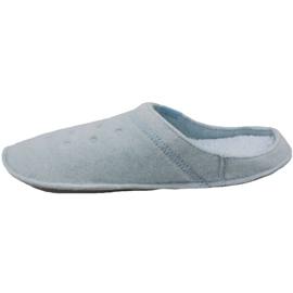 Klapki Crocs Classic Slipper W 203600-4JZ niebieskie 1