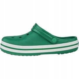 Buty Crocs Crocband 11016-3TL białe zielone 1