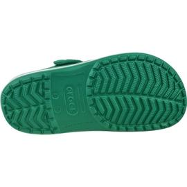 Buty Crocs Crocband 11016-3TL białe zielone 3