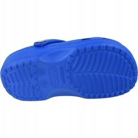 Klapki Crocs Crocband Clog K Jr 204536-4JL niebieskie szare 3