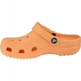Klapki Crocs Crocband Clog K Jr 204536-801 pomarańczowe 1