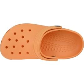 Klapki Crocs Crocband Clog K Jr 204536-801 pomarańczowe 2