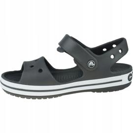 Sandały Crocs Crocband Jr 12856-014 szare 1