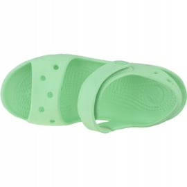 Sandały Crocs Crocband Jr 12856-3TI zielone 2